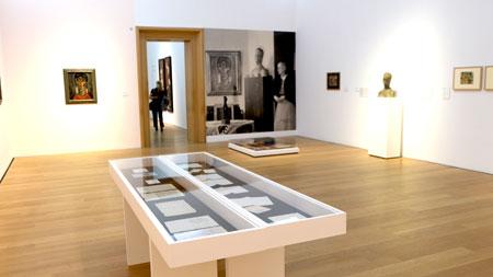 Ausstellungs-Impression-Alles! 100-jahre-Alexej von Jawlensky in Wiesbaden. © Foto Diether v. Goddenthow
