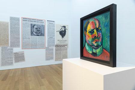 Ausstellungs-Impression-Alles! 100-jahre-Alexej von Jawlensky in Wiesbaden. © Museum Wiesbaden Foto Bernd Fickert.