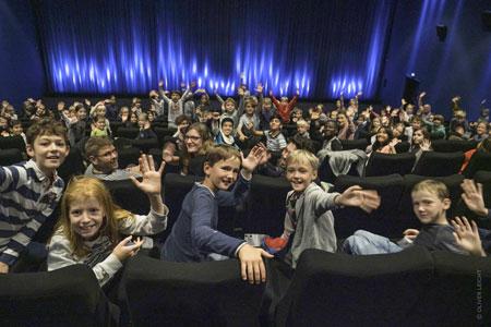 Junge Filmfans bei LUCAS © Oliver Leicht