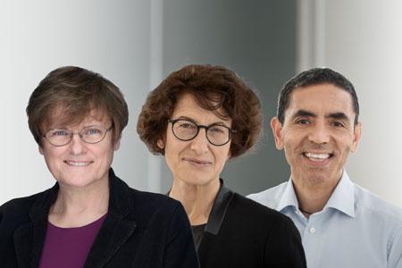 Katalin Karikó, Özlem Türeci und Uğur Şahin werden mit dem Paul Ehrlich- und Ludwig Darmstaedter-Preis 2022 ausgezeichnet