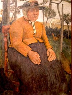 Paula Modersohn Becker. Alte Armenhäuslerin (1905). © Foto Diether v Goddenthow