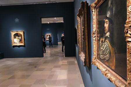"""Ausstellungs-Impression """"Nennt mich Rembrandt! Durchbruch in Amsterdam"""" © Foto Diether v. Goddenthow"""