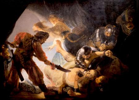 Rembrandt Die Blendung Simsons, 1634. Frankfurt, Städel Museum © Foto Diether v. Goddenthow