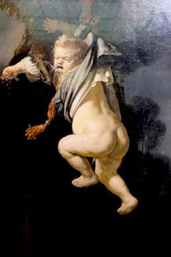 Rembrandt. Die Entführung des Ganymed. Dresden, Staatliche Kunstsammlungen, Gemäldegalerie Alte Meister. © Foto Diether v. Goddenthow