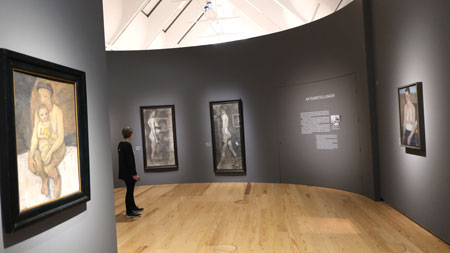 Ausstellungs-Impression Paula Modersohn Becker © Foto Diether v Goddenthow