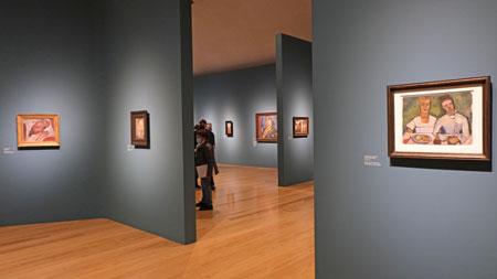 """Ausstellungs-Impresssion. """"Paula Modersohn-Becker fasziniert bis heute: Während die einen sie als populäre Malerin von Kinderbildnissen, Müttern, Bauern und norddeutscher Landschaft schätzen, wird sie von anderen als Ausnahmekünstlerin der Moderne gefeiert und neben Cézanne und Picasso gestellt. Gerade diese Vielstimmigkeit ihrer Rezeption war für die Schirn Anlass, unser Publikum einzuladen, ihr Werk in Frankfurt in seiner Gesamtheit neu zu betrachten."""", Dr. Philipp Demandt, Direktor der Schirn Kunsthalle Frankfurt. © Foto:  Heike v Goddenthow"""