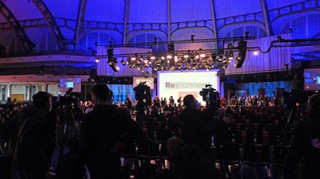 Eröffnung der Frankfurter Buchmesse findet in der Kongresshalle Frankfurt statt. © Foto Diether v Goddenthow
