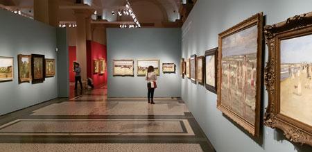 Ich. Max Liebermann. Ein europäischer Künstler. vom 7. Oktober 2021 bis 9. Januar 2022. Ausstellungs-Impression © Foto  Diether v Goddenthow